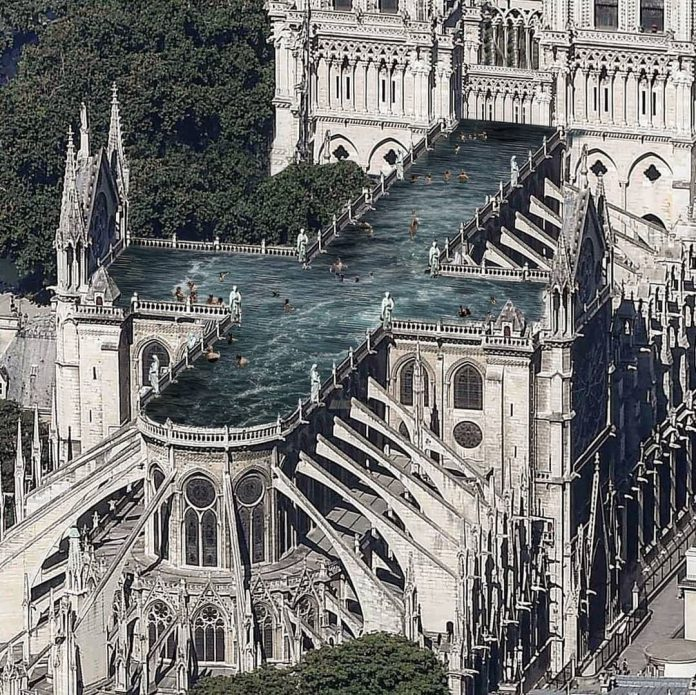 Notre Dame bazén