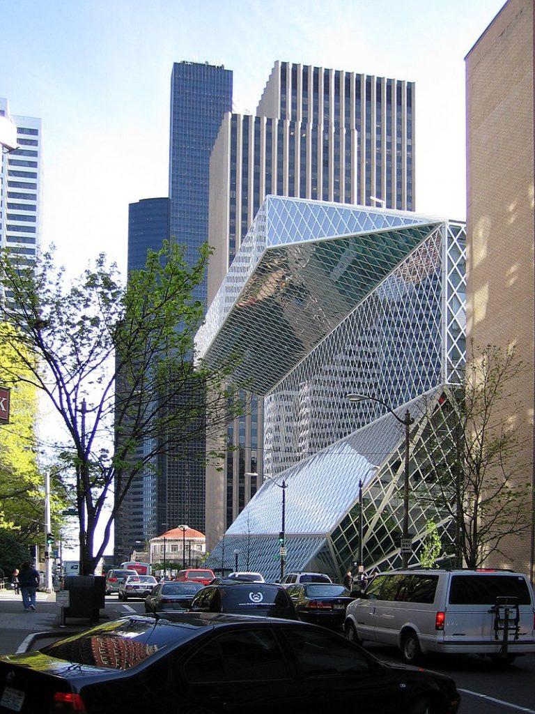 Verejná knižnica Seattle Koolhaas