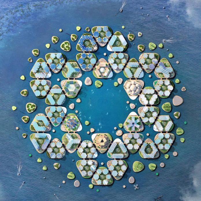 Oceanix odpoveď na klimatické zmeny