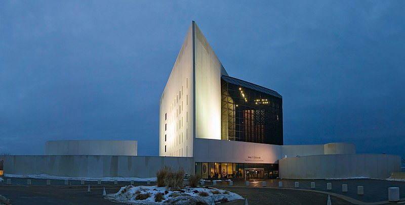 JFK library and museum