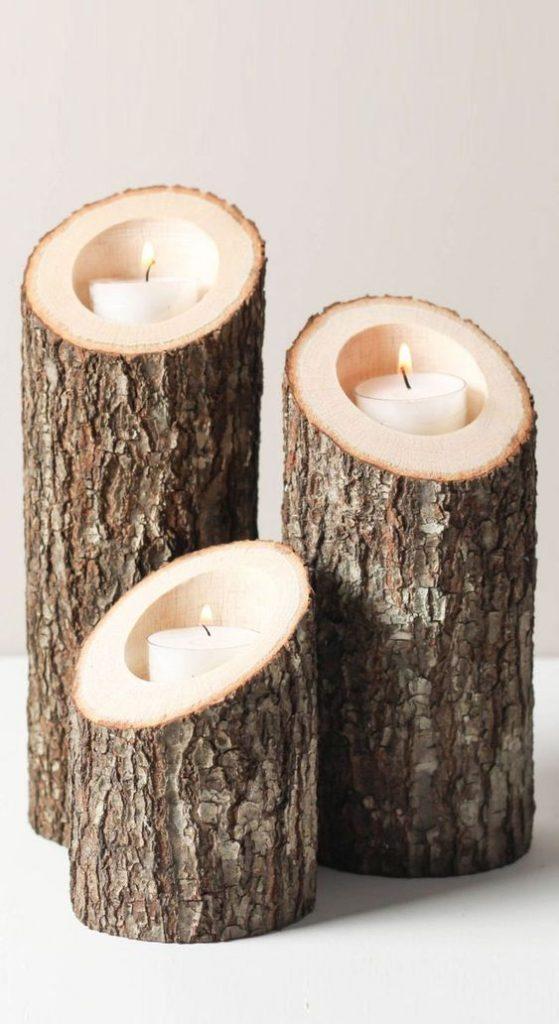 svietniky z dreva