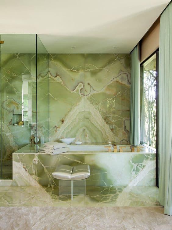 ónyx v kúpeľni