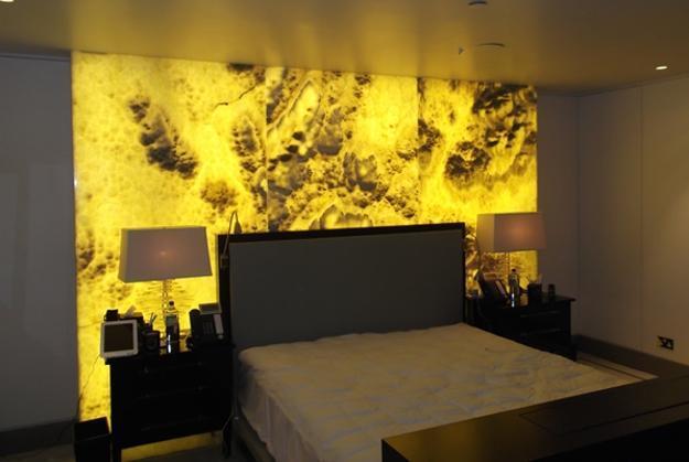ónyx luxusná panelová stena