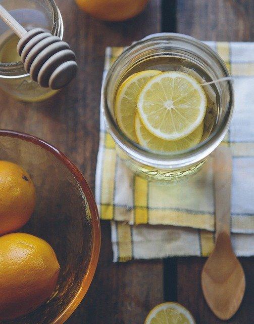 citrón pohár utierka