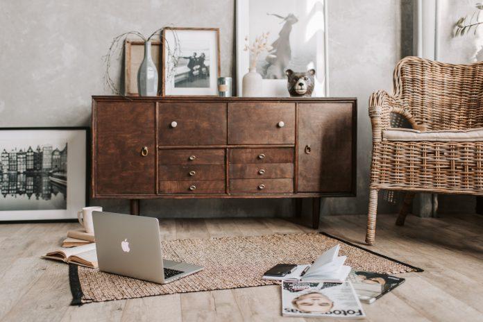 rustikálny štýl a nábytok