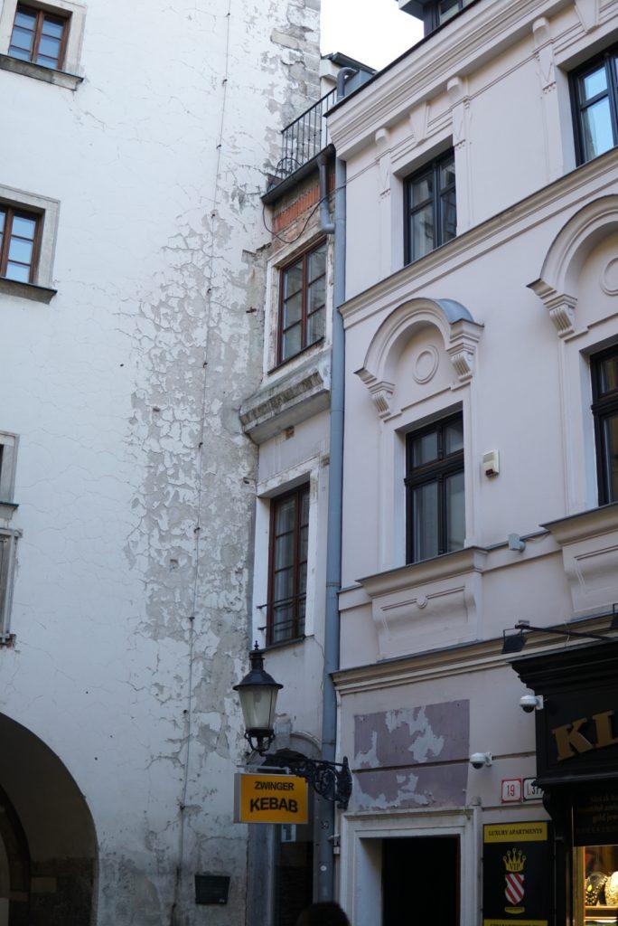 najužší dom v Bratislave sa nachádza pri Michalskej bráne