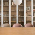nová jedáleň v zrekonštruovanom byte od architekta Alana Prokopa