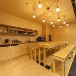veľký kuchynský priestor v modernej firme
