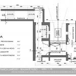pôdorys občianskeho interiéru lanovky vedúcej na Lomnický štít