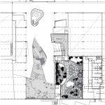pôdorys a návrh architektonickej úpravy úžitkovej plochy obchodného centra