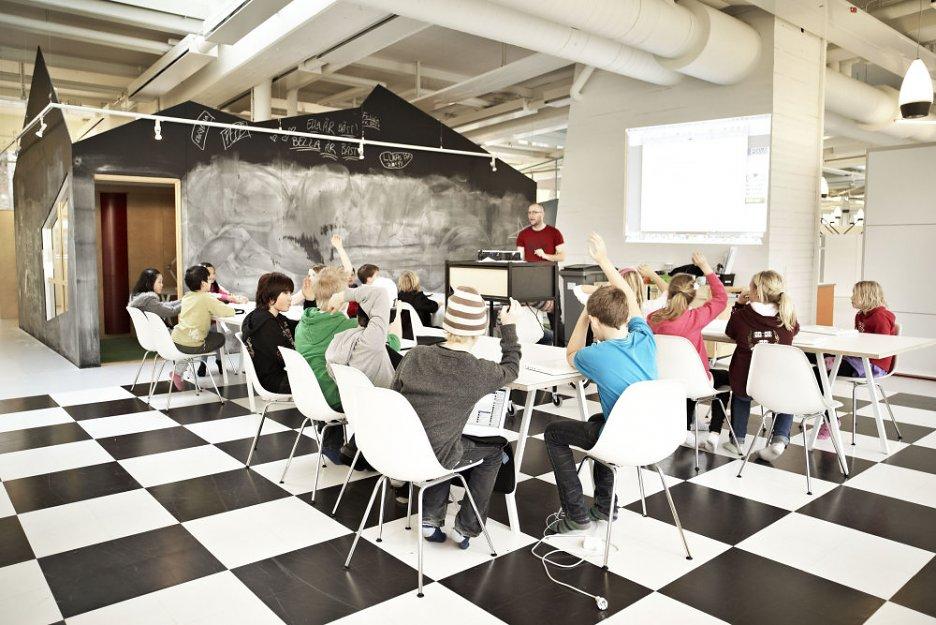 kreatívna trieda v modernej škole