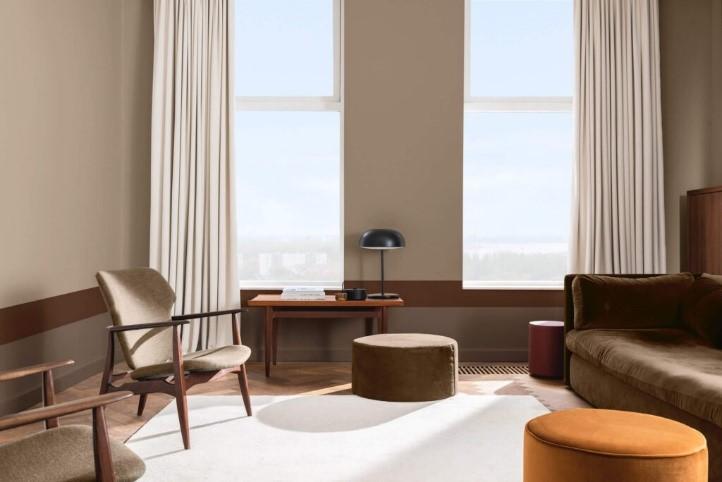 luxusný a moderný interiér zariadený v aktuálnom štýle