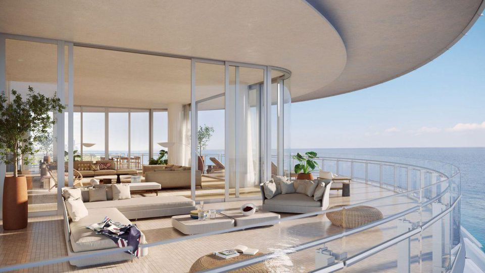 luxusný interiér a exteriér Penthouse bytu