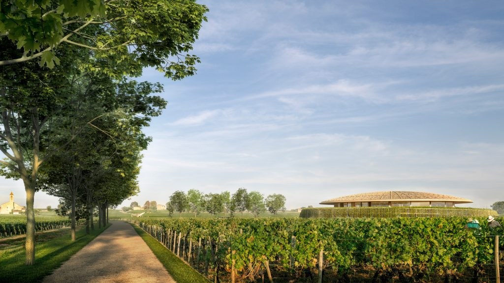 oster + Partners unveils design for domed winery in France