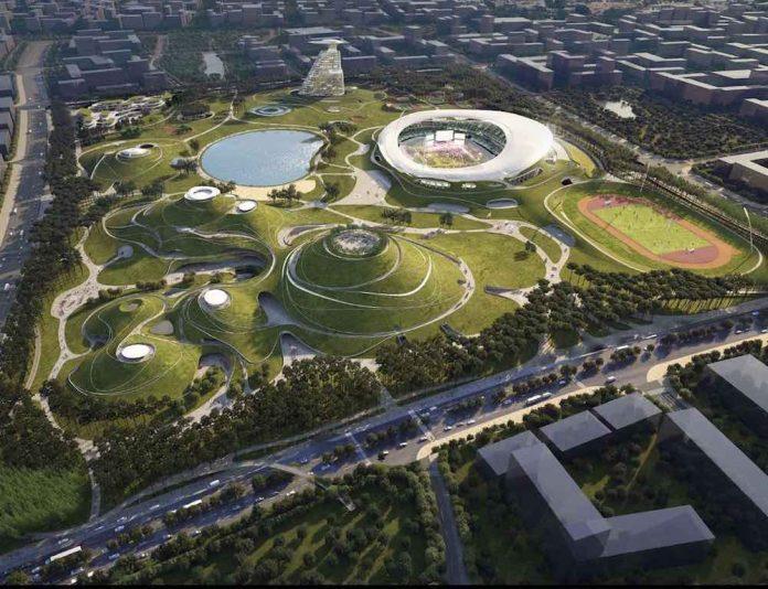 Quzhou Sports Campus od MAD Architects