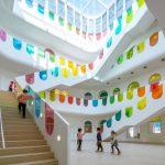 interiér škôlky od SAKO Architects v meste Tianshui v Číne