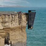 dom na útese v Austrálii