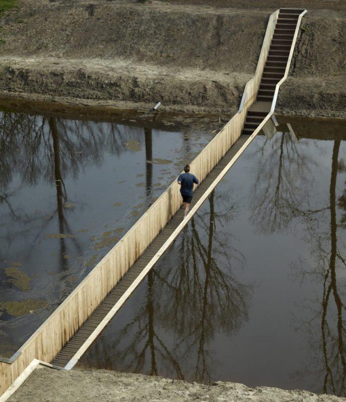 neviditeľný most Holandsko