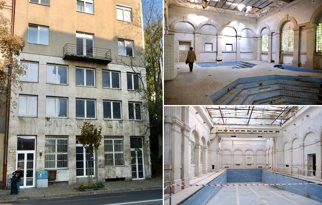 Historické kúpele Grössling v Bratislave