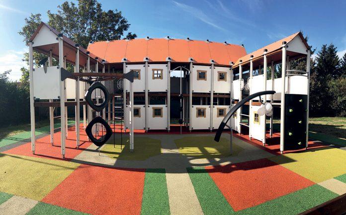 Detské ihrisko v Šali