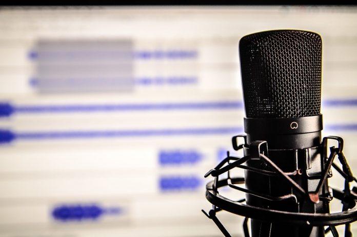 Detail na mikrofón