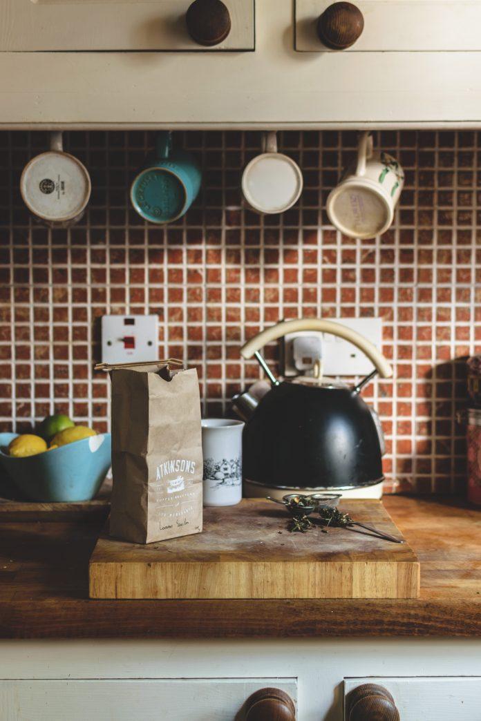 Kuchynská linka vo vintage štýle