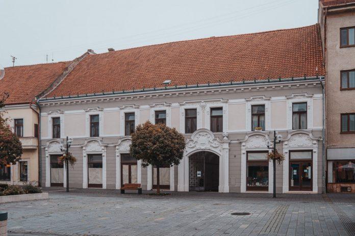 Budova budúceho kultúrno-kreatívneho centra