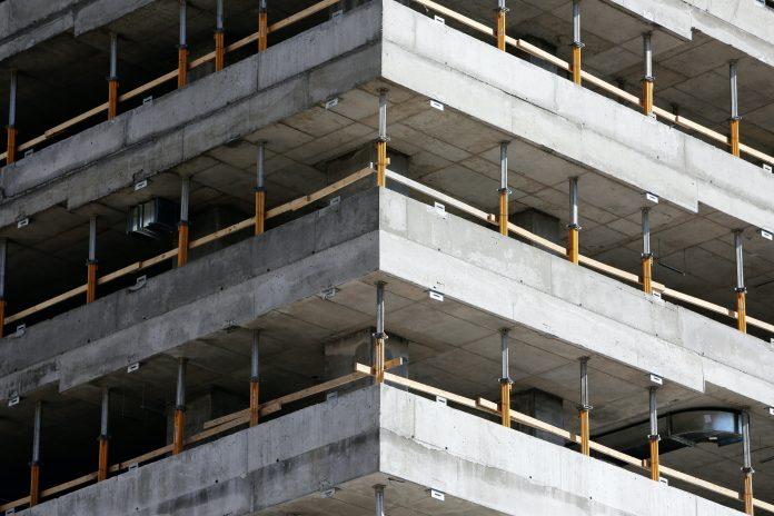 stavba vo výstavbe