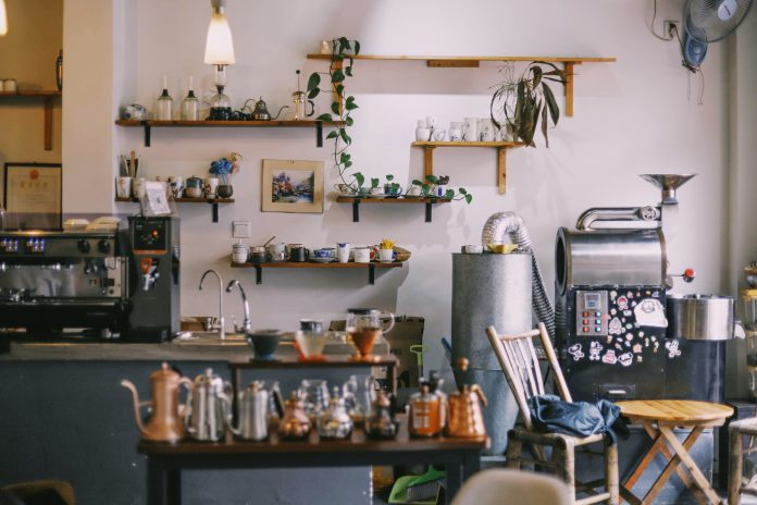 Štýlová a zaujímavá kaviareň
