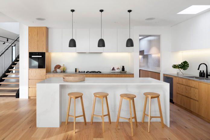 Kuchyňa s kuchynským ostrovčekom
