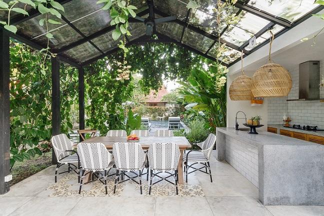 Záhradná kuchyňa