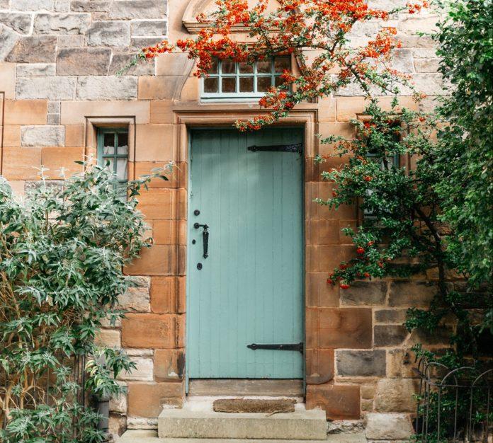 vintage vchodové dvere