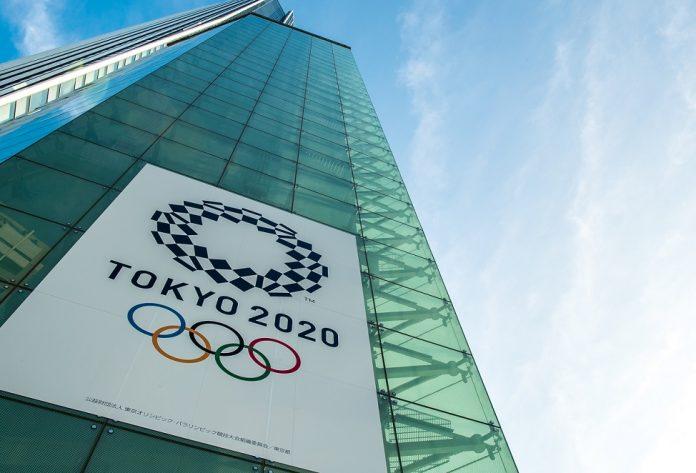Logo olympijských hier v Tokiu